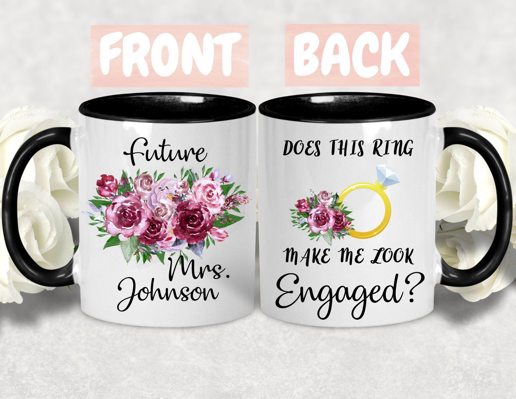 Does this ring make me look engaged mugengagement mug