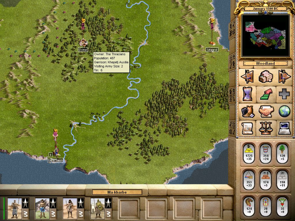 Name Chariots of War. Type Turn Based Strategy (TBS