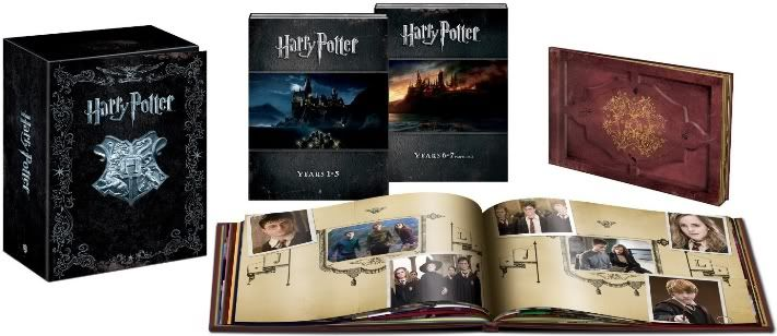 harry potter boks bluray
