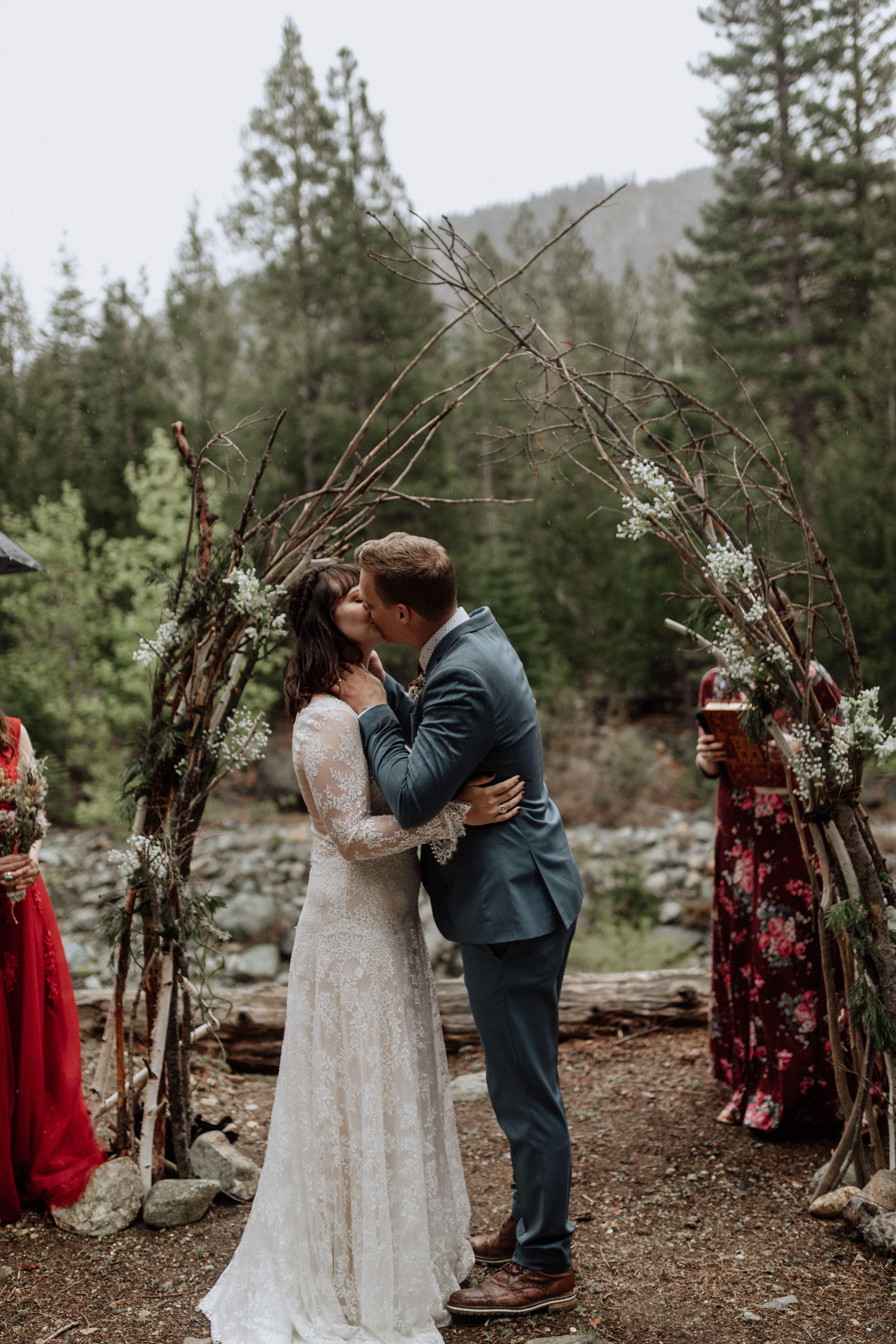 Northern California wedding. Sierra city California ...
