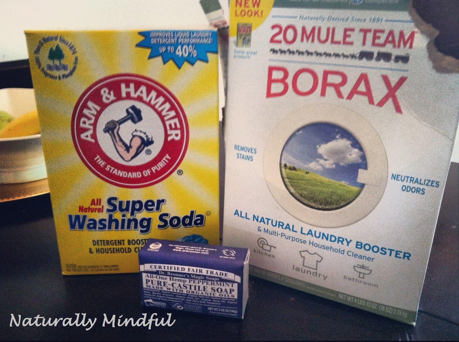Naturally Mindful: DIY: Nontoxic Laundry Detergent