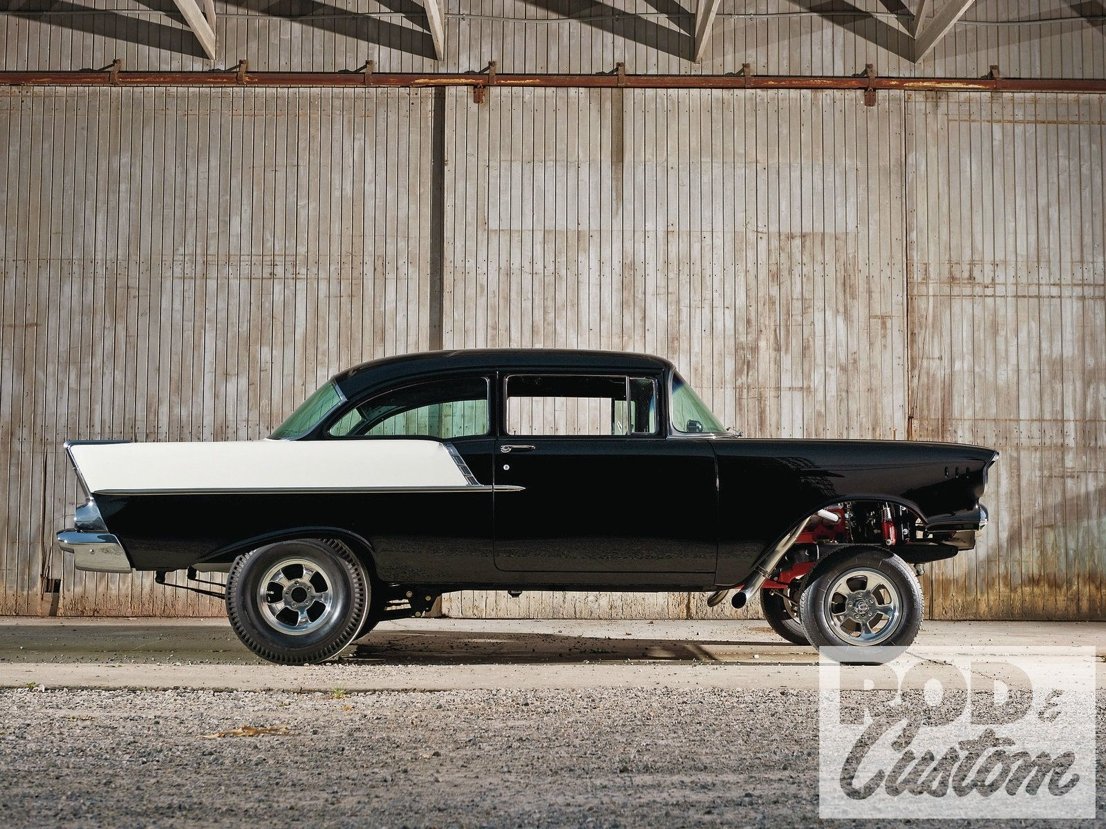 Vehicles Hot Rod Chevrolet Wallpaper Automotive Inspiration 1957