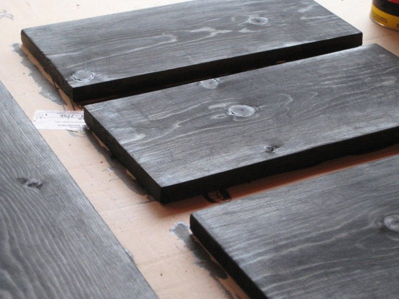 Ebony wood stain
