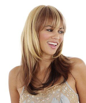 Two Tone Hair Color Styles | two tone hair coloring is a new style ...