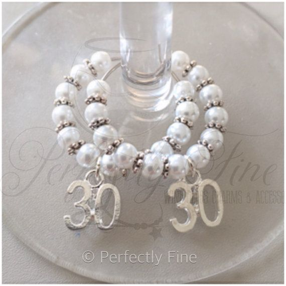 30th pearl wedding anniversary wine glass by for 30th wedding anniversary decoration ideas