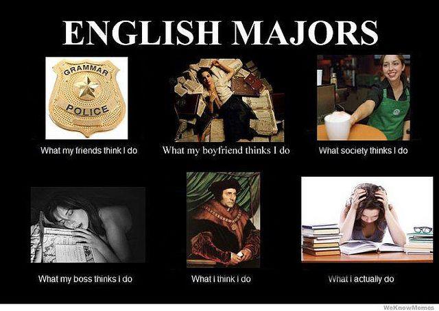 English Major English Major English Major Humor English