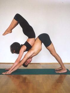 Advanced Partner Yoga Poses Acro Couple And
