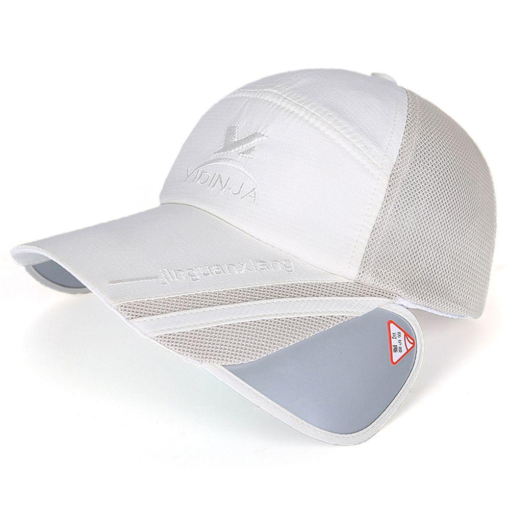 5e81f216 Fashion Unisex Men Women Polyester Mesh Wide Brim Baseball Cap Summer  Fishing Outdoor Anti UV Sunscreen Adjustable Casual Hat #Affiliate