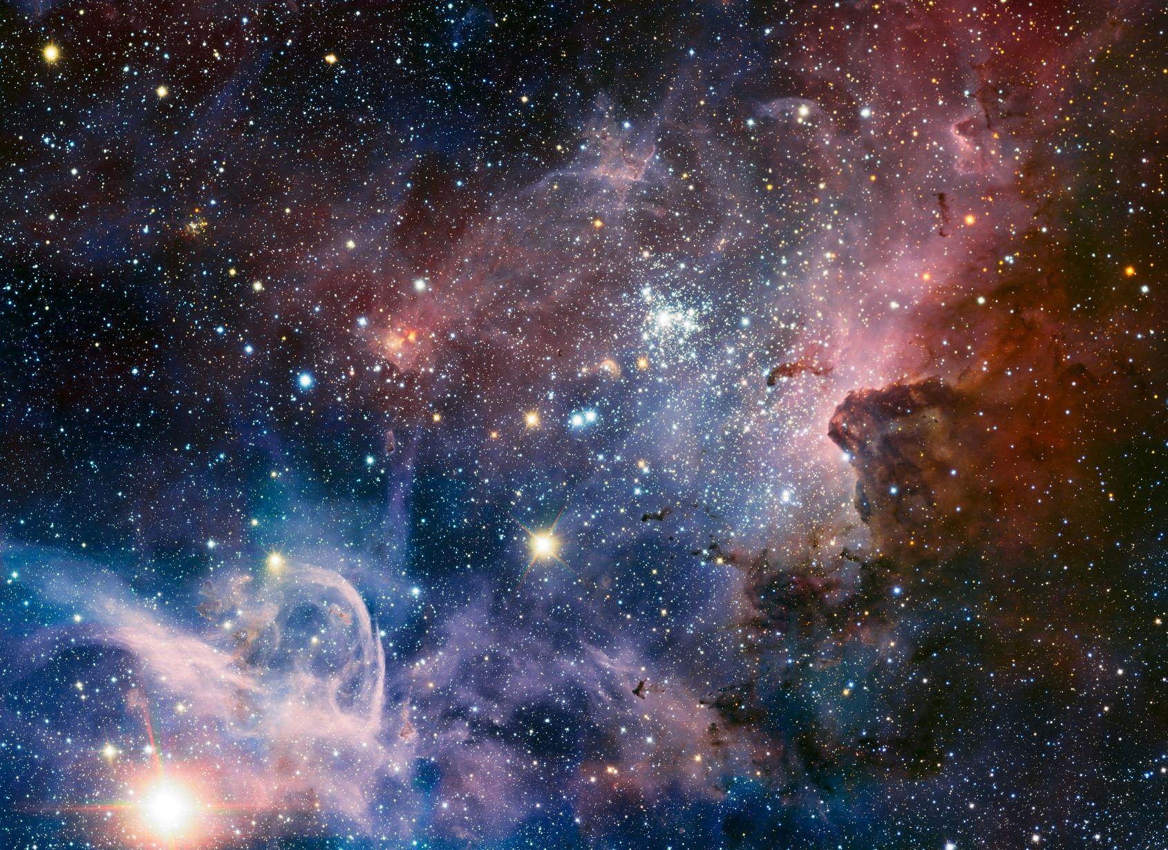Stellar Nursery The Carina Nebula A Mive