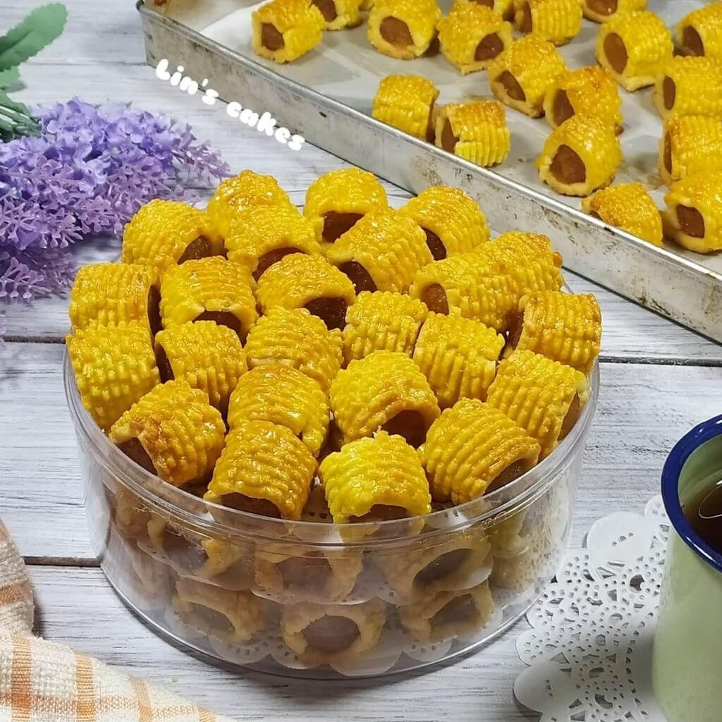 Resep Nastar Gulung Renyah Dan Garing Lin S Cakes Kue Kering Nastar Resep Masakan