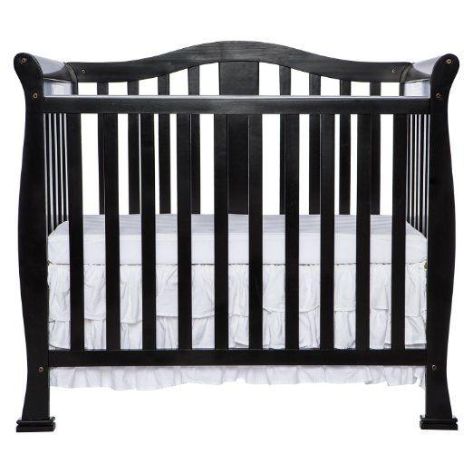 Amazon Com Dream On Me Addison 4 In 1 Convertible Mini Crib Espresso Baby Mini Crib Cribs Baby Cribs