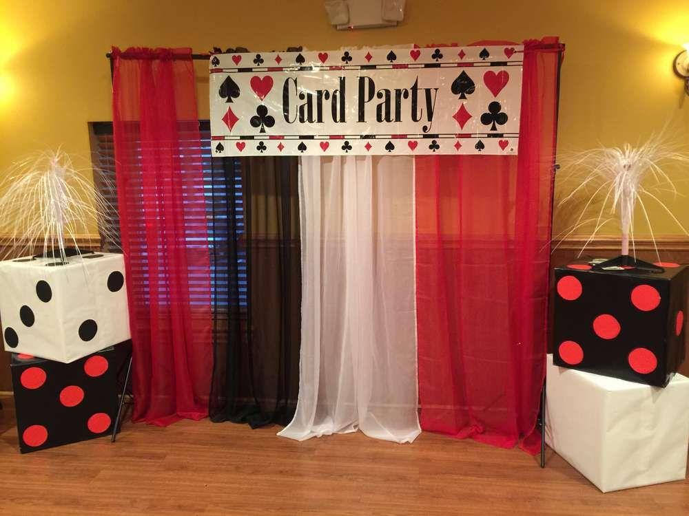 Casino Themed Birthday Party Ideas