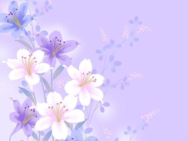 Фоны для презентаций - паттерны цветов 5 | Цветочное ...