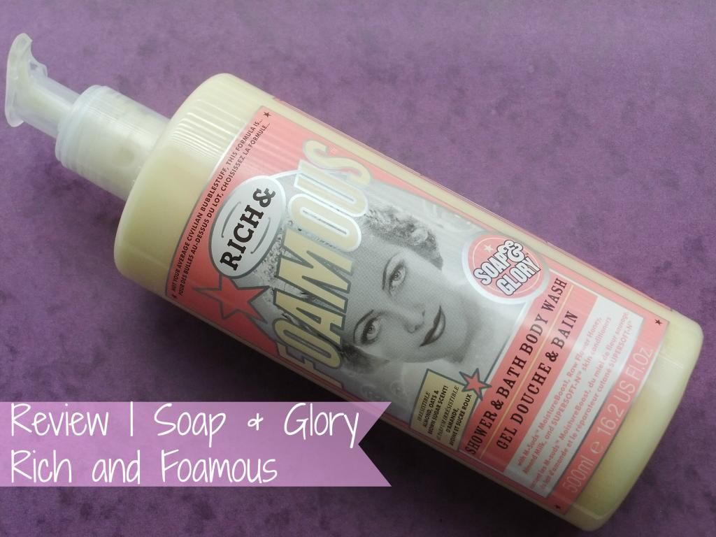 NEW POST! Review | Soap and Glory Rich and Foamous #blog #bbloggers #bbloggerspost #beautychat #beauty #skin #skincare #soapandglory #bath #bathe #shower #wash #raspberrykiss #review