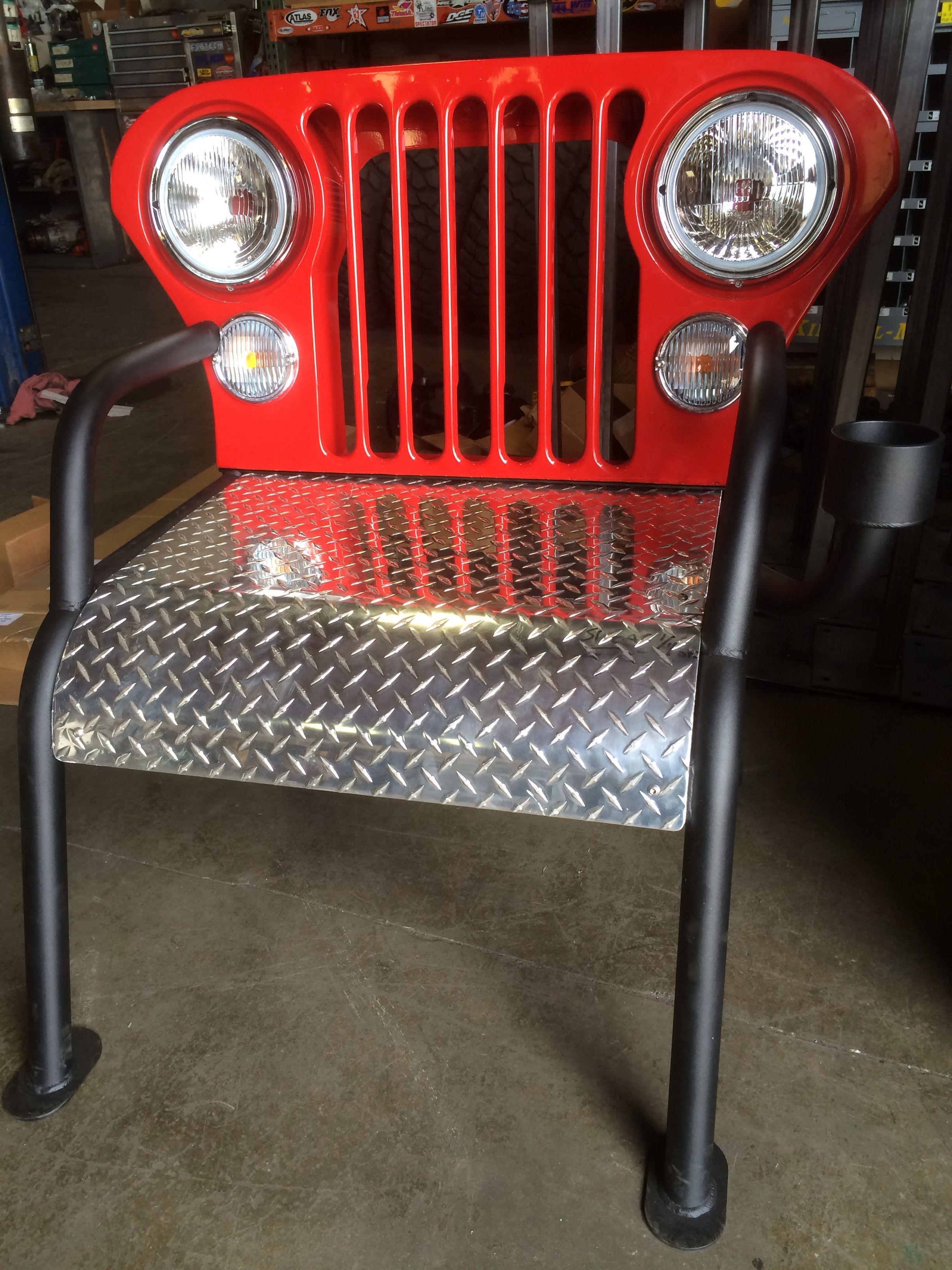 Jeep chair Jeep Stuff Pinterest