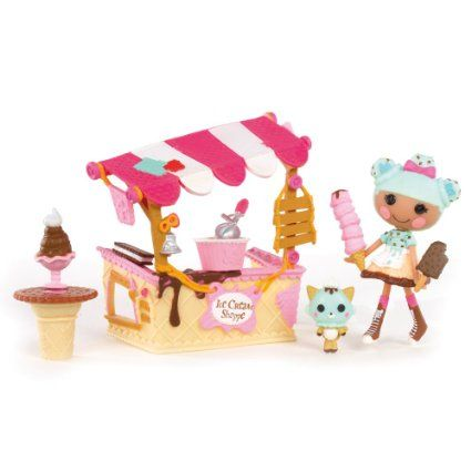 Amazon.com: Mini Lalaloopsy Playset - Scoops Serves Ice Cream: Toys & Games