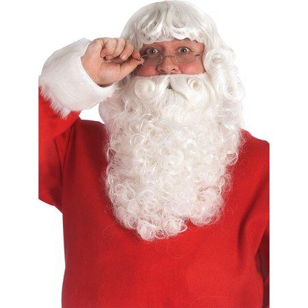 Beard Set Costume Accessory Adult Christmas Fancy Dress 2018 Santa Claus Wig