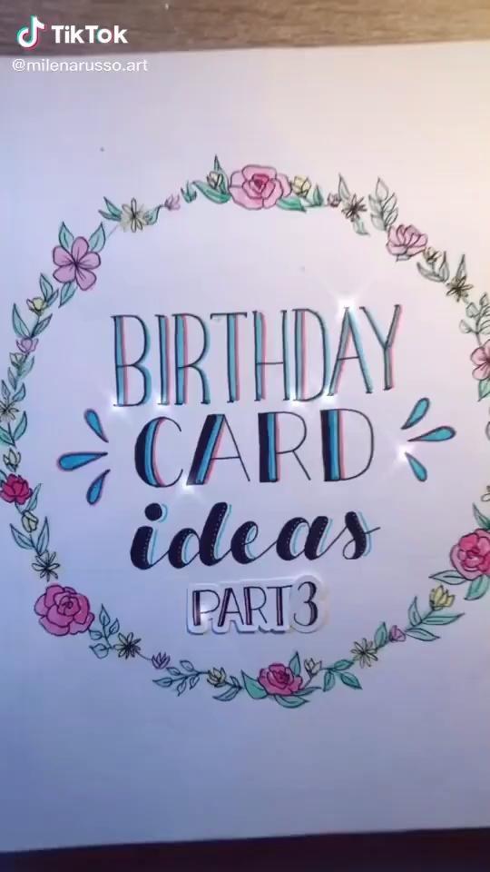 Bday Card Idea Video Birthday Cards Diy Happy Birthday Cards Diy Birthday Cards For Mom