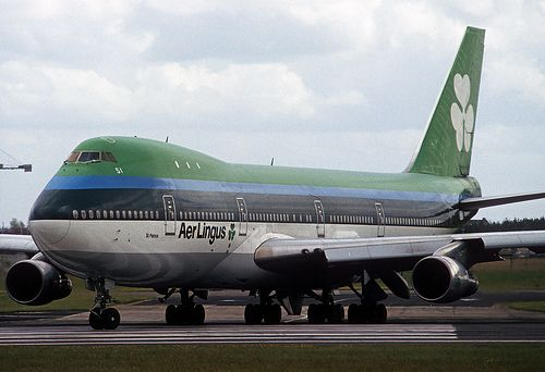Aer Lingus Boeing 747 148 I Remember Going On The Jumbo Jet A