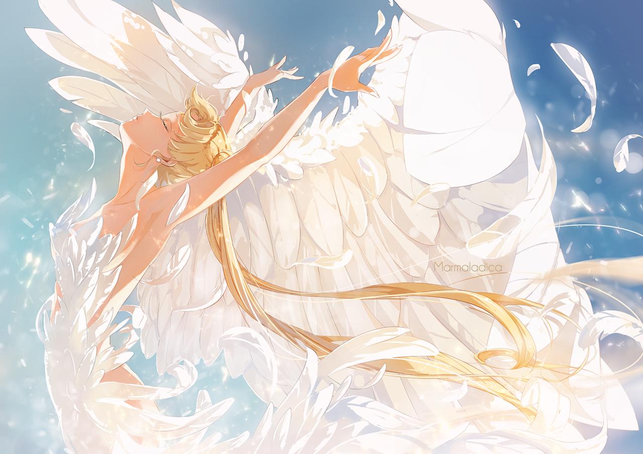 Принцесса с крыльями картинки