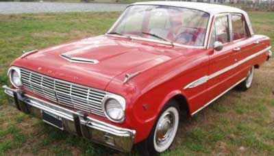 Pin Auf 1965 Ford Falcon Futura 4 Door
