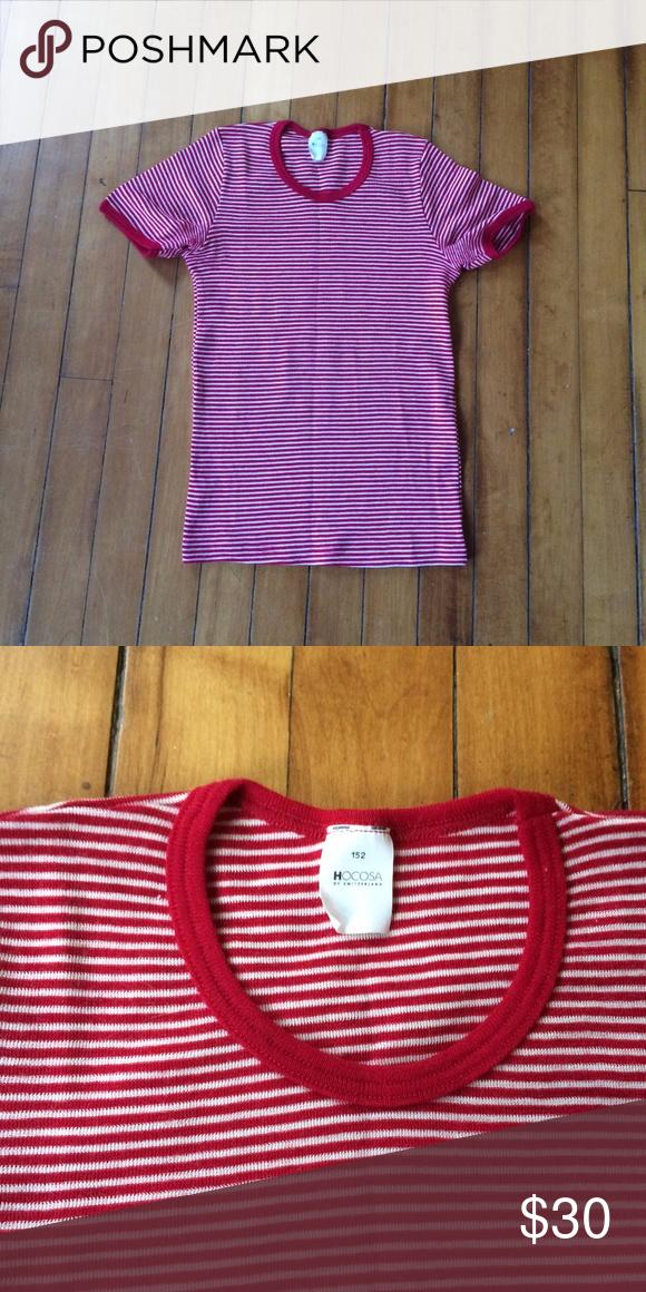 Sold Hocosa Kid S 152 11 12 Yrs Wool Shirt Long Underwear