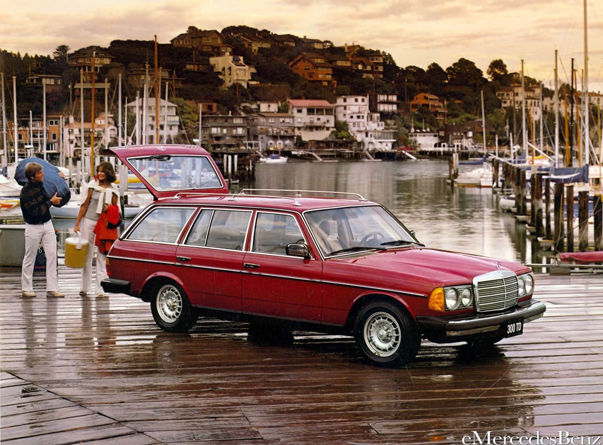 mercedes station-wagon Vintage