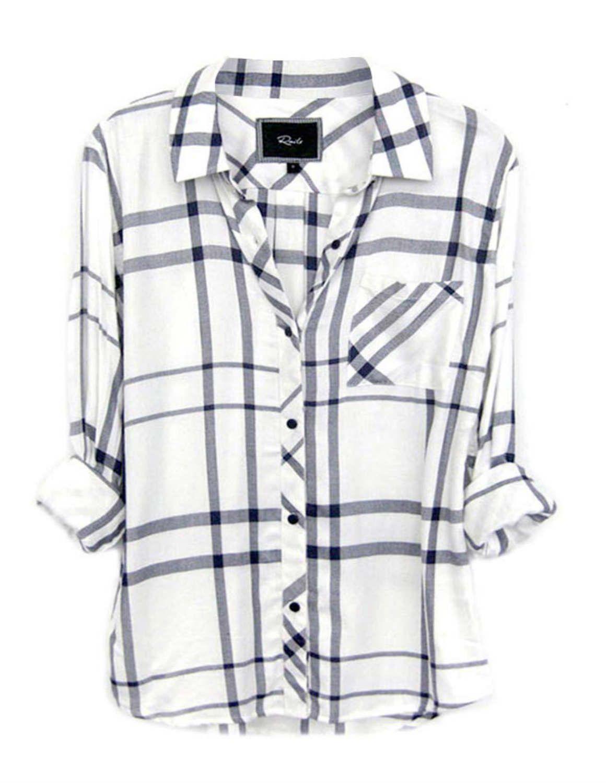 fd4b81c769805 Rails Hunter shirt - white cadet blue - Feather   Stitch