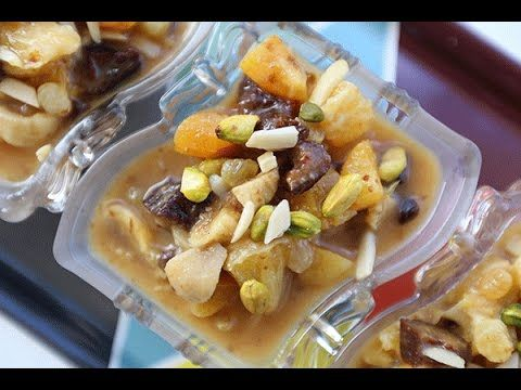 طريقة عمل بالفيديو الخشاف حلا رمضاني خفيف من مطبخ سيدتي الحلويات Yum Food Breakfast