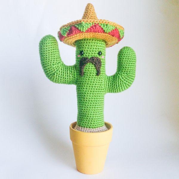 Mexican Cactus amigurumi pattern by Armigurumi | gehäkelte Blumen ...