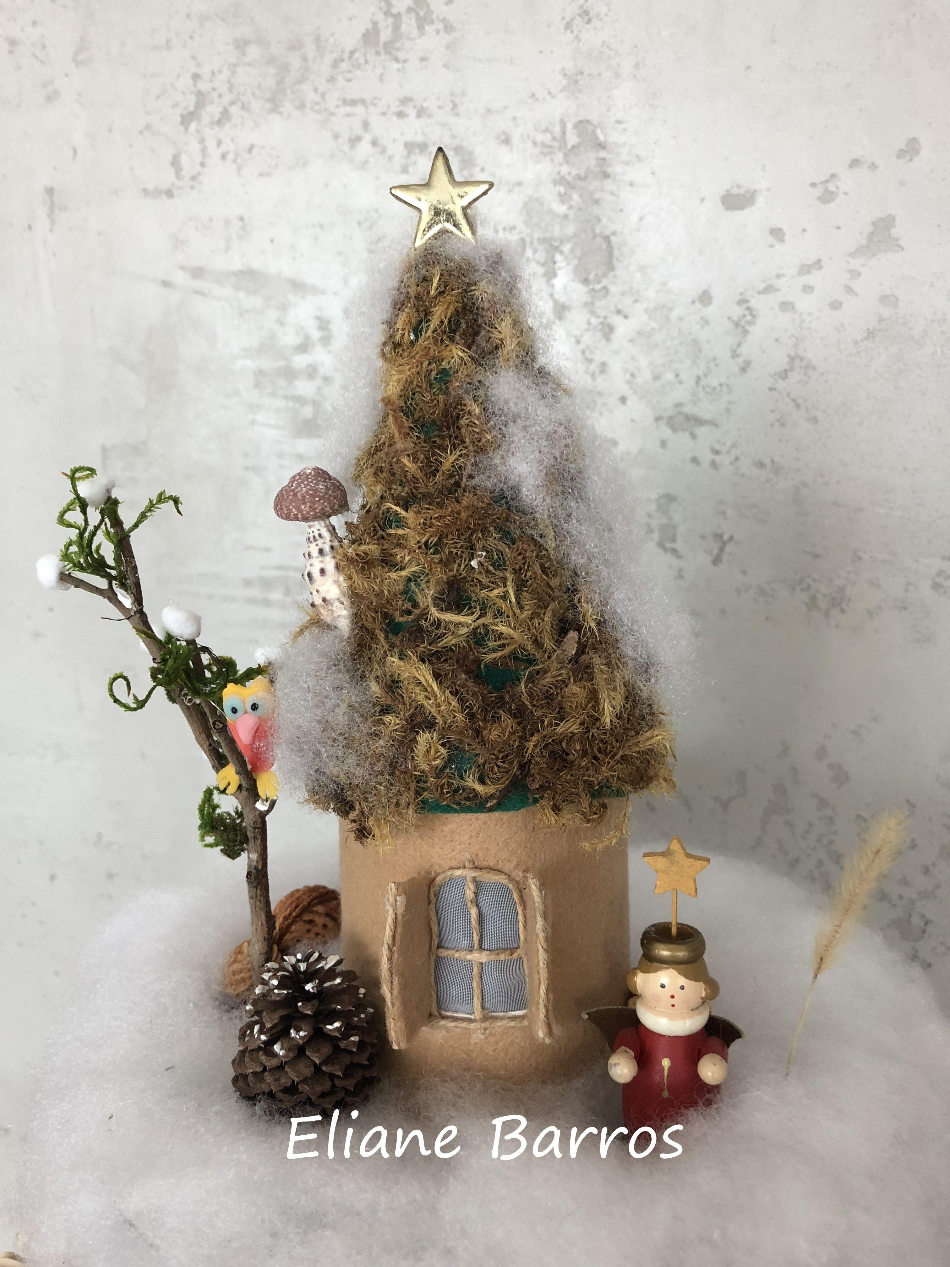 Topo Da Arvore De Natal Natal Decoracao