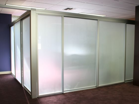 Sliding Door Room Divider Glass Room Partitions Use