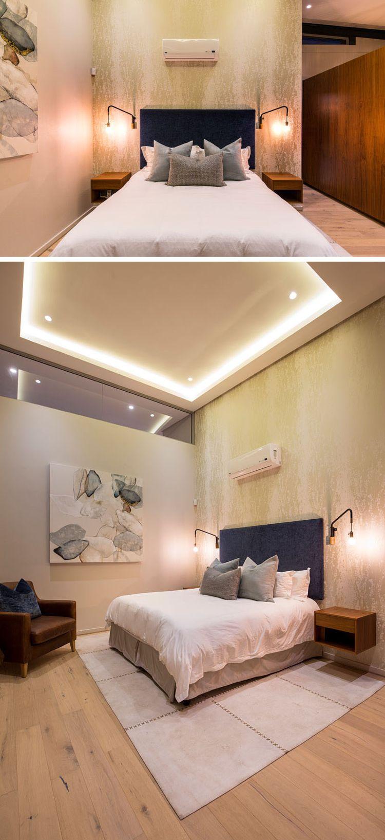 Indirekte Deckenbeleuchtung Im Schlafzimmer