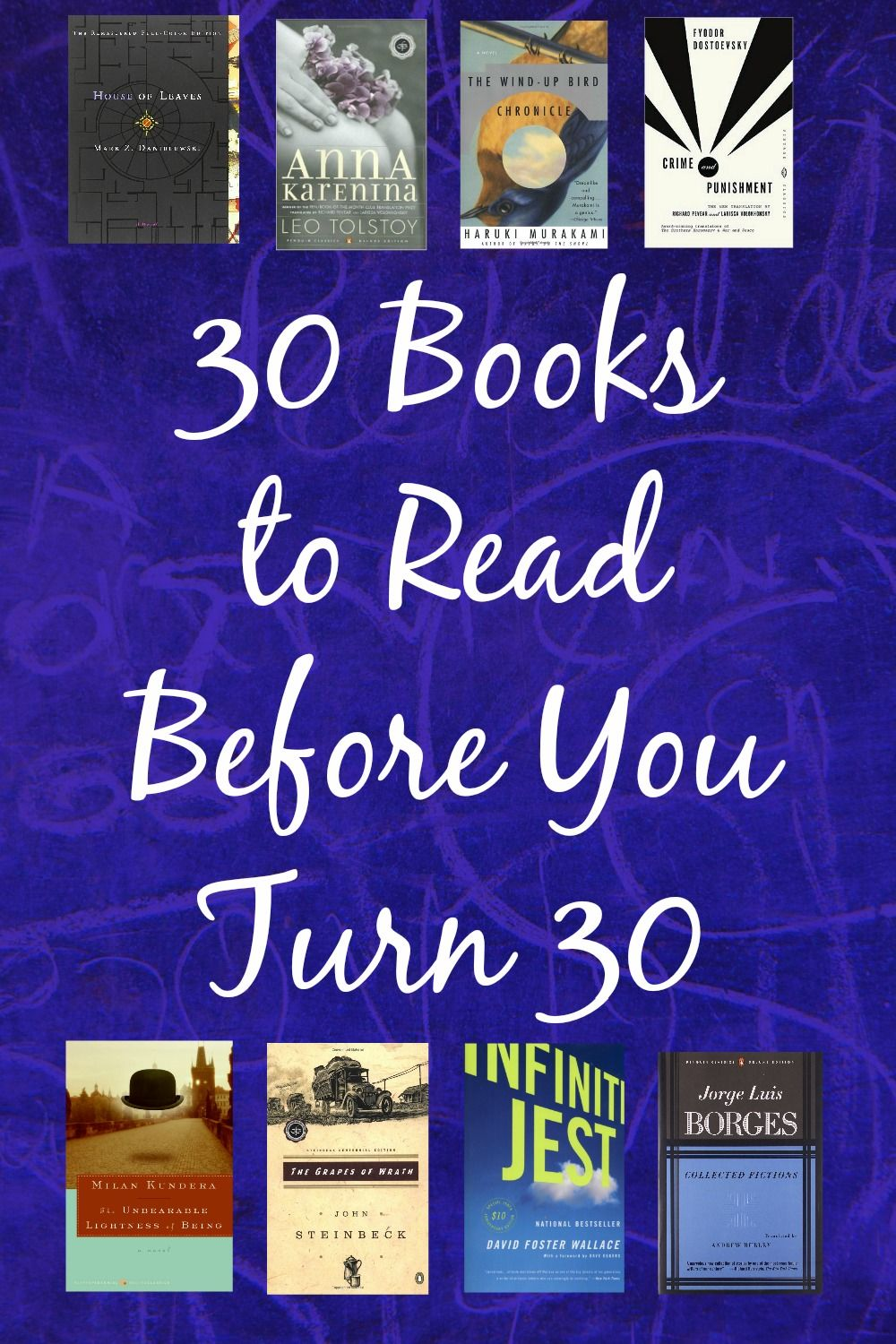 30 books to read before you turn 30 top books to read
