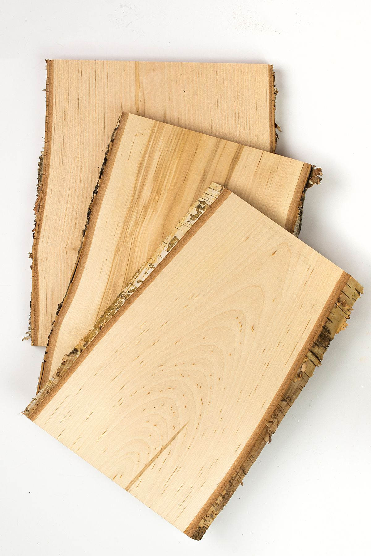 The Most Beautiful Wood Slice Birch Bark And Beautiful Grain I Love This Kiln Dried So No Cracking Wood Slice Decor Wood Planks Wood