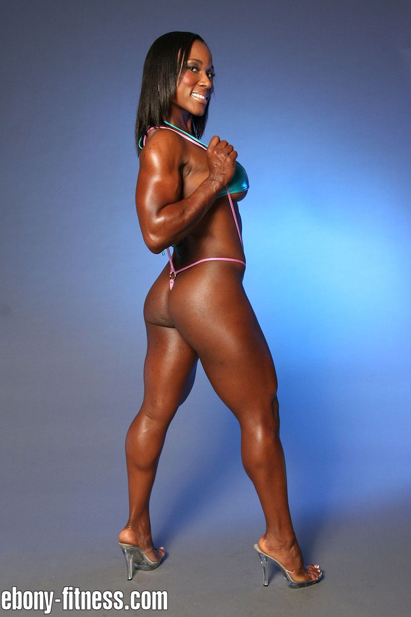 Sexy Ebony Fitness Models-3873