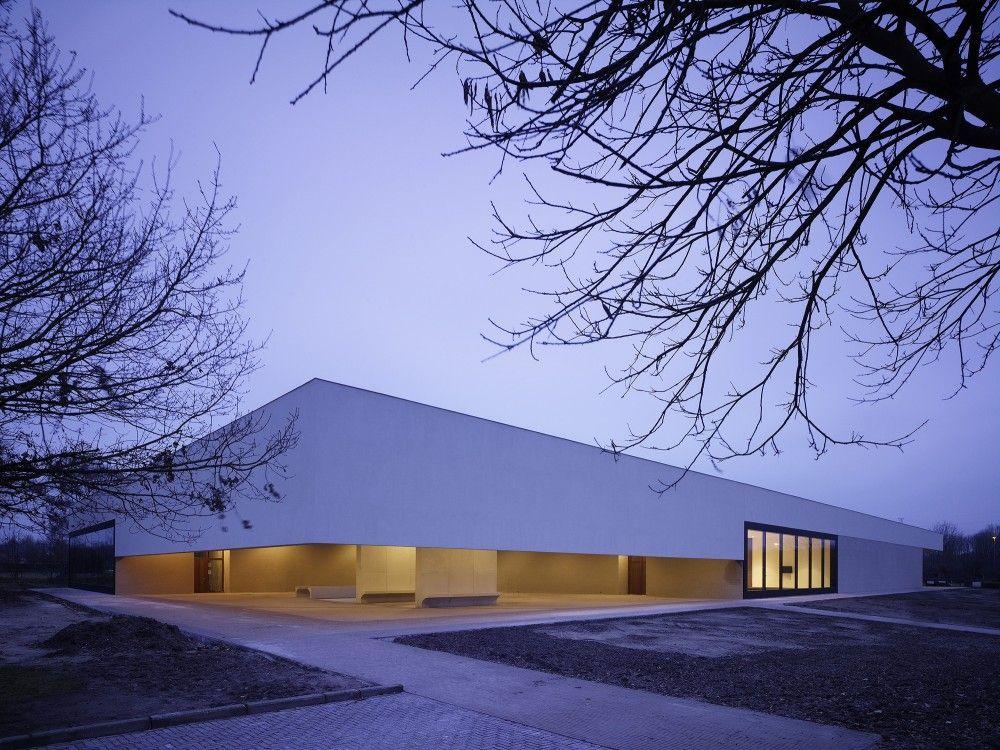 Gallery Of Crematorium Heimolen Kaan Architecten 4 Architecture Church Architecture Public Architecture
