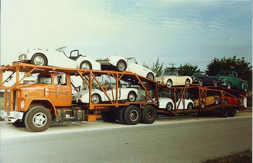 Mid-60's Dodge   Towing  Auto Transporter Insurance www.TravisBarlow.com