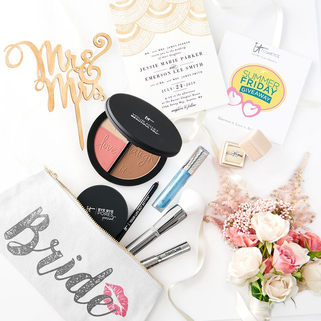 Wedding Chicks Minted Giveaway Beautiful Wedding Makeup Cosmetics Giveaway Best Makeup Products