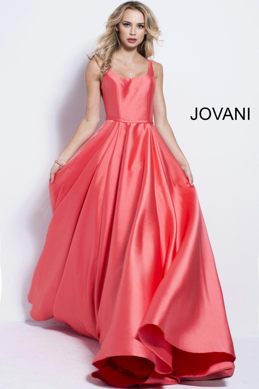 Famoso Vestido De Fiesta De Encaje Rojo De Jovani Adorno - Colección ...