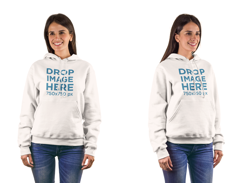 New! Hoodie Mockup of a Woman in Front of a Flat Backdrop. Try it here: https://placeit.net/c/apparel/stages/hoodie-mockup-of-a-woman-in-front-of-a-flat-backdrop-a8433