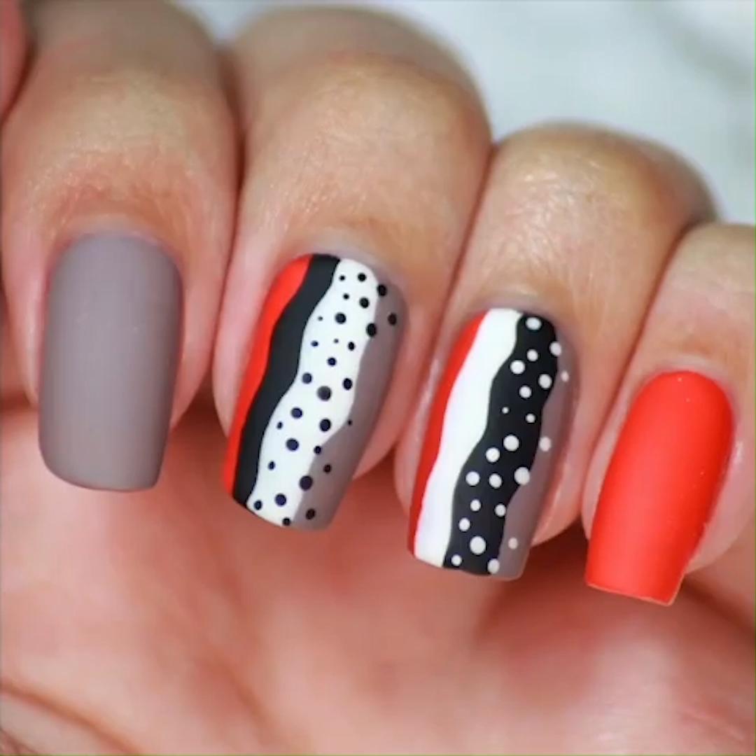 Photo of COLORFUL NAIL ART #colorful #nailart #nails #tutorial