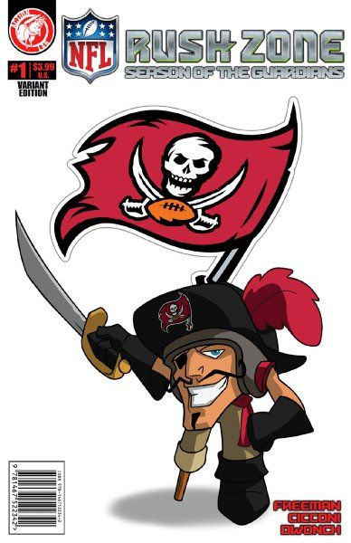 Nfl Rush Zone Season Of The Guardians 1 Tampa Bay Buccaneers Cover Amazon Books Tampa Bay Buccaneers Logo Tampa Bay Buccaneers Buccaneers Football