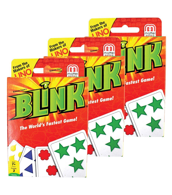 Mattel blink card game pack of 3 in 2020 card games