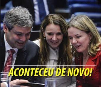 O Empenho Notícias & Afins: Senadores do PT continuam com a molecagem! Desta v...
