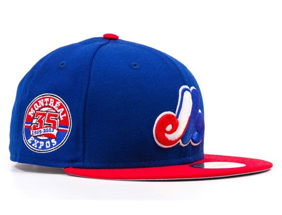 Montreal Expos 35th Anniv 59Fifty FItted Cap by NEW ERA x MLB  febd23faac3