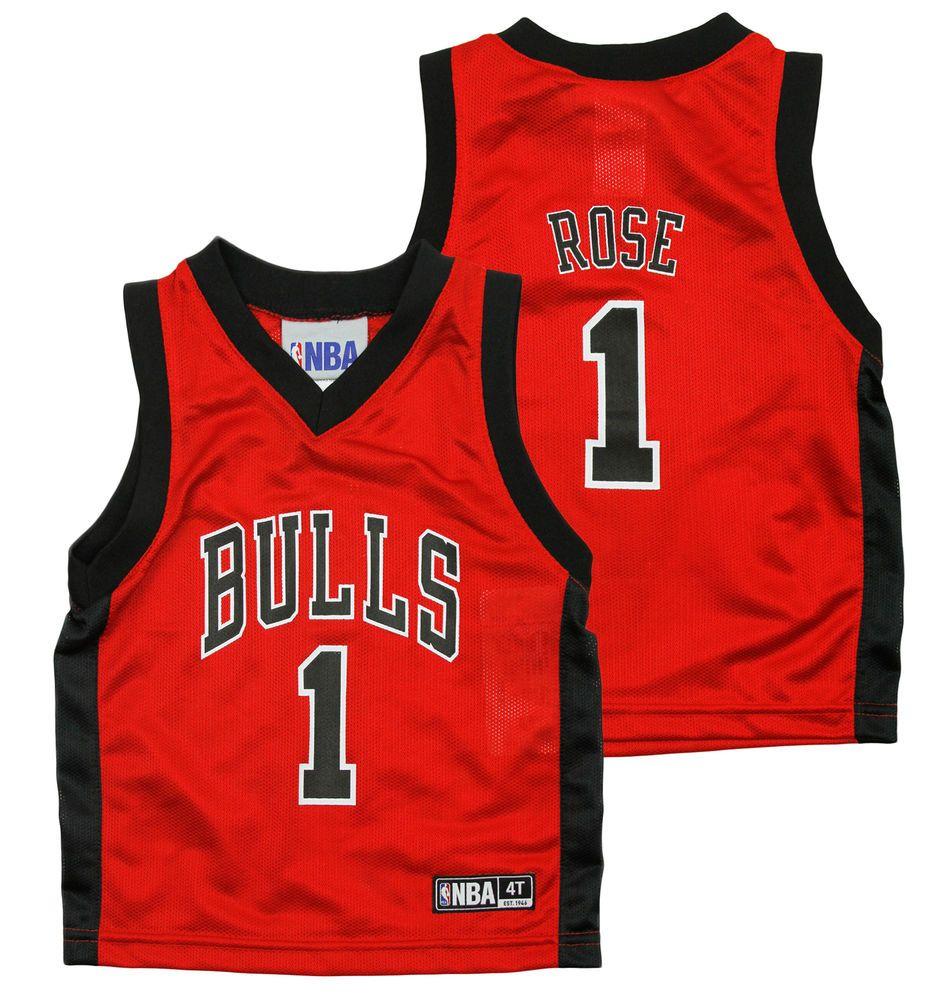 pretty nice bbb99 e90bd NBA Basketball Infant / Toddler Chicago Bulls Derrick Rose ...