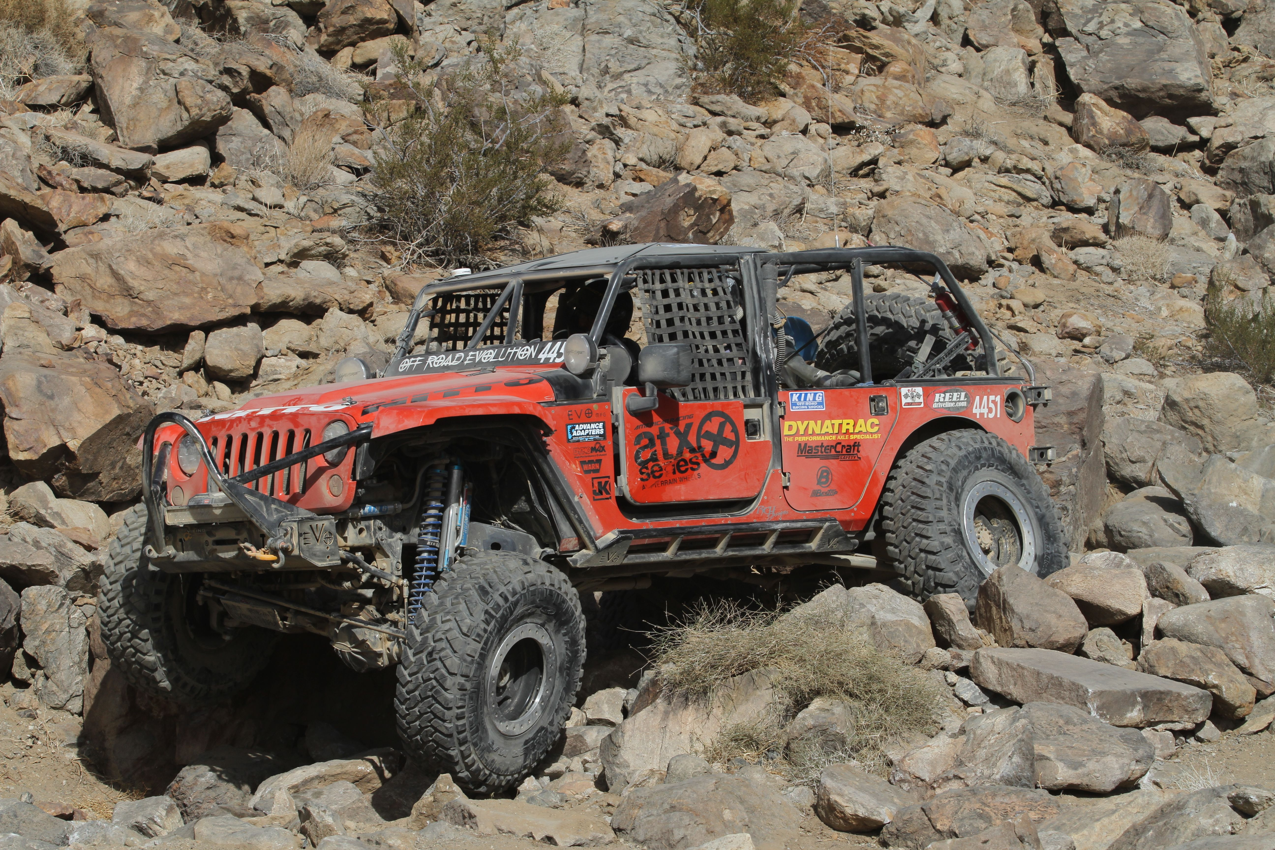 Off Road Evolution Jeep Jk At King Of The Hammers Jeep Jk Jeep