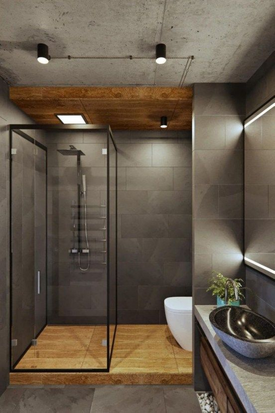 Examples Of Minimal Interior Design For Bathroom Decor 36 With