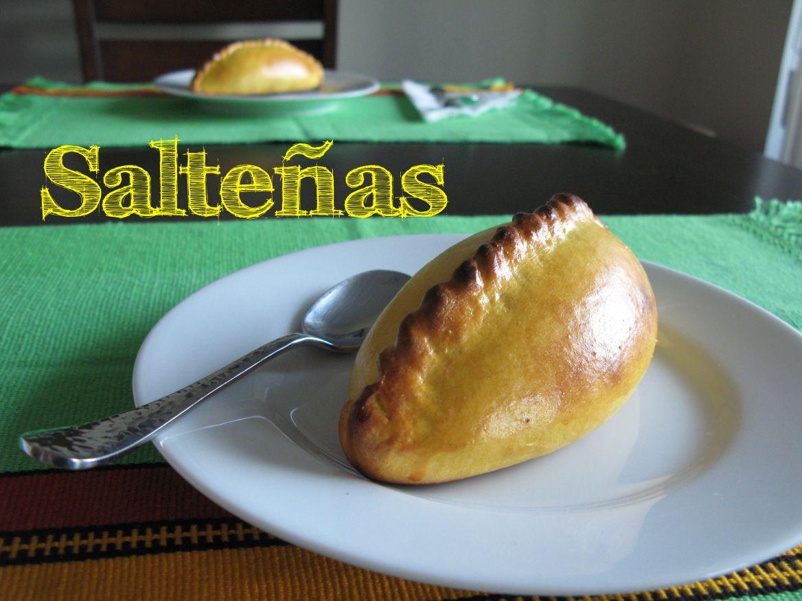 Salteña Recetas bolivianas, Comida boliviana, Receta de